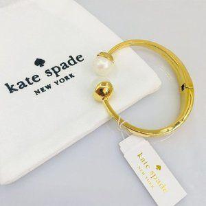 Kate Spade Beautiful Pearl Inlaid Bracelet